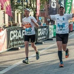 Pärnumaa Võidupüha maraton - Tauno Ojasaar (19), Ainar Ojasaar (140)
