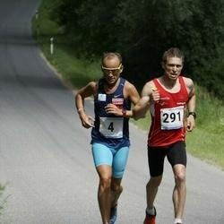 6.Suvejooks ümber Saadjärve - Janar Juhkov (4), Allan Männi (291)