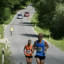 6.Suvejooks ümber Saadjärve - Raimo Salla (341), Toomas Tarm (358)