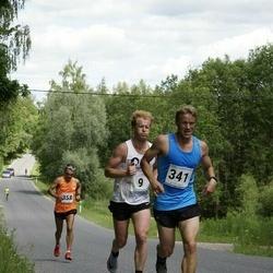 6.Suvejooks ümber Saadjärve - Siim Susi (9), Raimo Salla (341), Toomas Tarm (358)