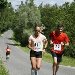 6.Suvejooks ümber Saadjärve - Ivar Sikk (27), Lily Luik (411)