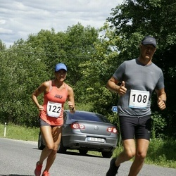 6.Suvejooks ümber Saadjärve - Bruno Tammaru (108), Kristina Uibo (122)