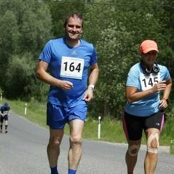 6.Suvejooks ümber Saadjärve - Linda Krimm (145), Heigo Mansberg (164)