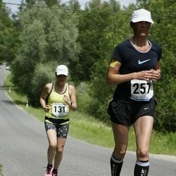 6.Suvejooks ümber Saadjärve - Ingrid Treu (131), Piret Kolk (257)
