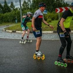 Pärnu Rulluisumaraton - Arvis Miezitis (22), Taavo Käi (53), Aarne Krõlov (68)