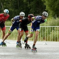 Pärnu Rulluisumaraton - Gerth Kivima (10), Amper Savelev (11), Jarek Mäestu (14)