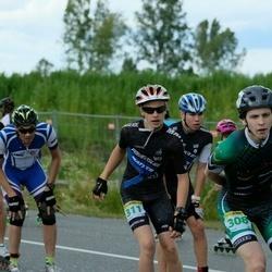 Pärnu Rulluisumaraton - Joonas Valge (301), Arnis Prieditis (308), Lukass Pusnins (311)