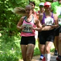 38. jooks ümber Pühajärve - Monika Liblik (369), Anna Remmelgas (488)