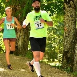 38. jooks ümber Pühajärve - Aleksei Ronkel (92), Ave Kupper (138)