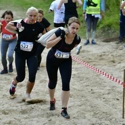 Vägilase jooks Lähte - Julia Nišajeva (522), Ilona Berezina (531)