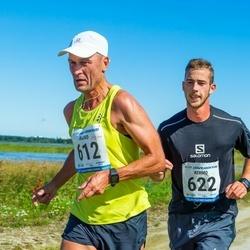 47. jooks ümber Ülemiste järve - Raivo Pärnpuu (612), Kermo Randmäe (622)