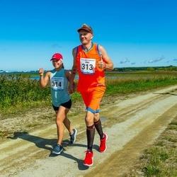 47. jooks ümber Ülemiste järve - Ermo Pajuväli (313), Helis Teearu (314)
