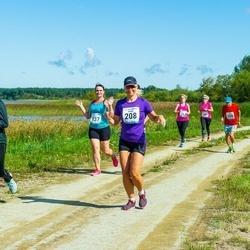 47. jooks ümber Ülemiste järve - Anna Remmelgas (137), Merle Peters (208)