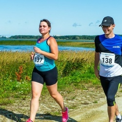47. jooks ümber Ülemiste järve - Anna Remmelgas (137), Priit Remmelgas (138)
