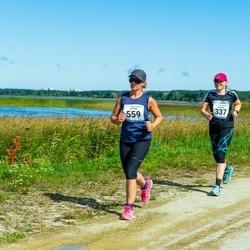 47. jooks ümber Ülemiste järve - Marina Rudõk (337), Katrin Männik (559)