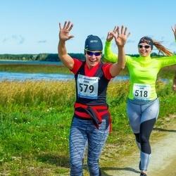 47. jooks ümber Ülemiste järve - Anne Lille (518), Anna Ojap (579)