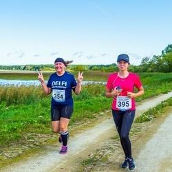 47. jooks ümber Ülemiste järve - Agnes Pärnamägi (354), Aleksandra Boitsova (395)