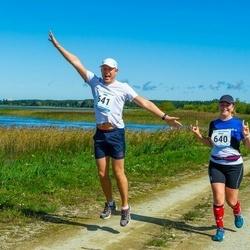 47. jooks ümber Ülemiste järve - Marek Markvart (541), Mairi Saar (640)