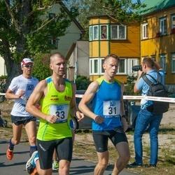 Jüri Jaansoni Kahe Silla jooks - Jaanus Mäe (31), Alari Lumberg (33)