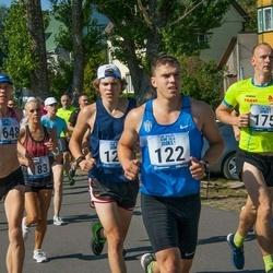 Jüri Jaansoni Kahe Silla jooks - Risto Kaljund (122), Taavi Reimets (175), Eveli Kurg (1648)