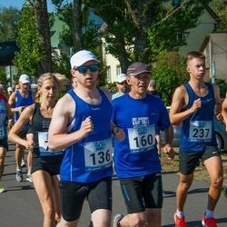 Jüri Jaansoni Kahe Silla jooks - Illo Jõe (136), Kajar Tilga (160), Marwin Joseph Virkus (237)
