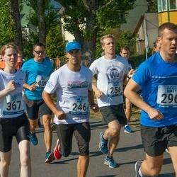 Jüri Jaansoni Kahe Silla jooks - Meelis Bauman (246), Rauno Mikkor (296), Eliise Seepter (367)