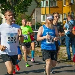 Jüri Jaansoni Kahe Silla jooks - Robert Tiismus (416), Erki Sarapu (529)