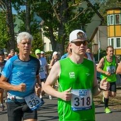 Jüri Jaansoni Kahe Silla jooks - Risto Reinumägi (318), Kaupo Koplus (335)