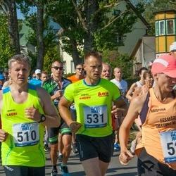 Jüri Jaansoni Kahe Silla jooks - Lauri Kaaviste (510), Kristiina Ranne (527), Andry Lillemägi (531)
