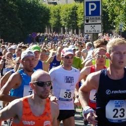 Jüri Jaansoni Kahe Silla jooks - Andres Hellerma (23), Priit Oidram (38)
