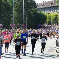Jüri Jaansoni Kahe Silla jooks - Helen Kustasson (3184), Marika Pärnoja (3186), Hilju Josua (3208), Taivo Kurvits (3229), Helle Ruuskop (3310)
