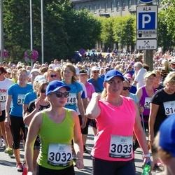Jüri Jaansoni Kahe Silla jooks - Olga Zurbi (3032), Olga Abramova (3033), Marika Kakko (3140), Rita Saareoja (3236)