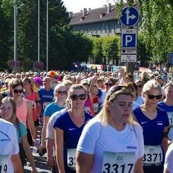 Jüri Jaansoni Kahe Silla jooks - Helen Senjavin (3317), Ruth Liivak (3319), Mari Saat (3371)