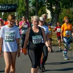 Jüri Jaansoni Kahe Silla jooks - Mariliis Tüvi (3004), Lotte Liis Tüvi (3005)