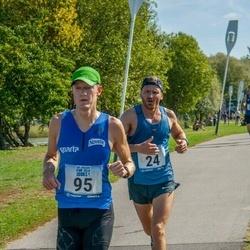 Jüri Jaansoni Kahe Silla jooks - Veiko Sulev (24), Peep Jalakas (95)