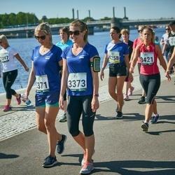 Jüri Jaansoni Kahe Silla jooks - Mari Saat (3371), Britt Kruusmaa (3373)