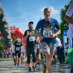 Jüri Jaansoni Kahe Silla jooks - Gunnar Koitne (387), Aleksei Ronkel (421)