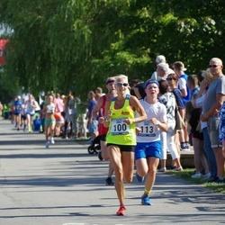 Jüri Jaansoni Kahe Silla jooks - Anu Piiroja (100), Jüri Jefimov (113)