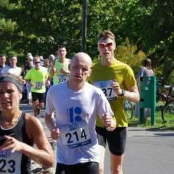 Jüri Jaansoni Kahe Silla jooks - Jaanus Aus (214), Getlin Urbus (223)