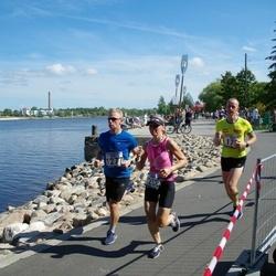 Jüri Jaansoni Kahe Silla jooks - Anneli Metsamaa (253), Silver Ao (1277)