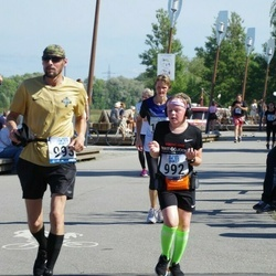 Jüri Jaansoni Kahe Silla jooks - Agnessa Kiik (992), Aivar Kiik (993)