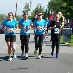 Jüri Jaansoni Kahe Silla jooks - Annika Künnapas (1198), Tiina Kallas (1199), Airis Vainokivi (1200), Heleriin Hunt (1669)