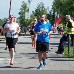Jüri Jaansoni Kahe Silla jooks - Maarika Anijärv (1184), Ken Tilk (1207)
