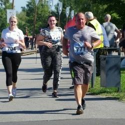 Jüri Jaansoni Kahe Silla jooks - Kärt Luht (704), Tarmo Uibomäe (777)