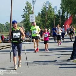 Jüri Jaansoni Kahe Silla jooks - Aarne Nõmberg (386), Kristiina Nõmberg (1507), Jane Rebane (3039)