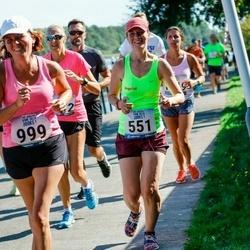Jüri Jaansoni Kahe Silla jooks - Ingrid Teder (551), Õnne Roosileht (999)