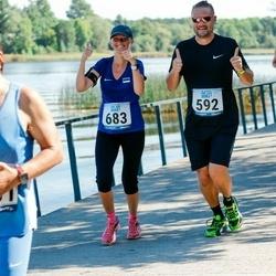 Jüri Jaansoni Kahe Silla jooks - Karmo Vunk (592), Eva Markson (683)