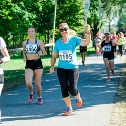 Jüri Jaansoni Kahe Silla jooks - Sigrid Küpar (1195), Piia Liisa Künnapas (1466)