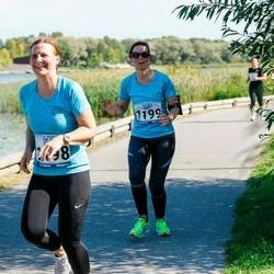 Jüri Jaansoni Kahe Silla jooks - Annika Künnapas (1198), Tiina Kallas (1199)