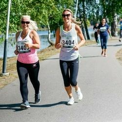 Jüri Jaansoni Kahe Silla jooks - Hetlin Kull (3403), Triin Hert (3404)